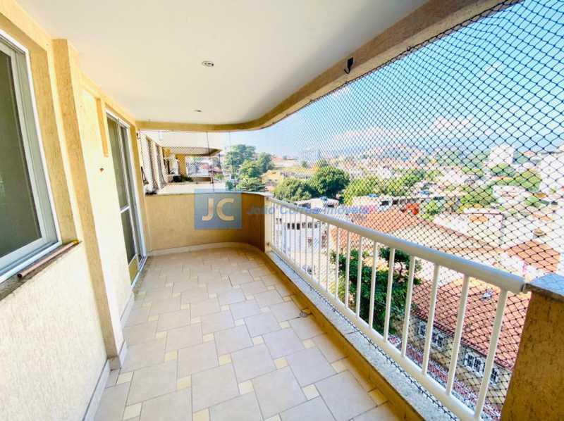 4 Varandão - Apartamento à venda Rua Monte Pascoal,Cachambi, Rio de Janeiro - R$ 400.000 - CBAP20333 - 5