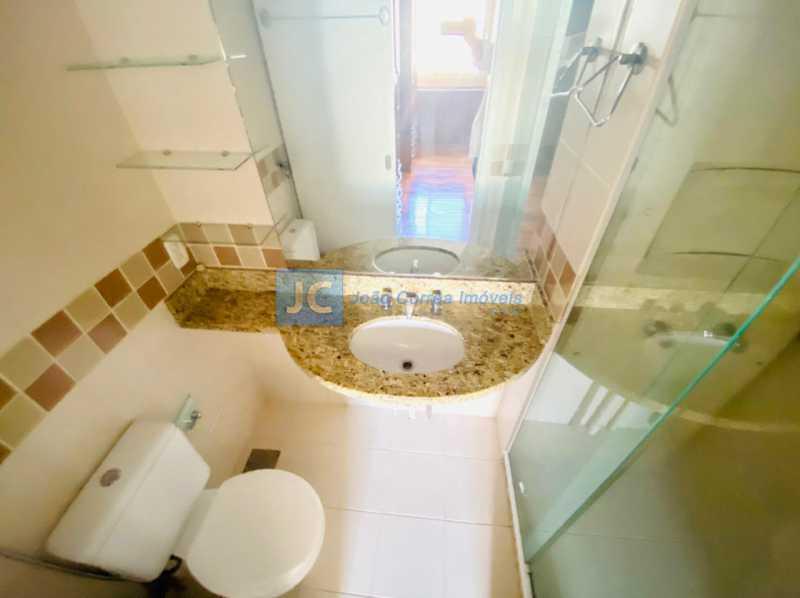 7 Banheiro Suite - Apartamento à venda Rua Monte Pascoal,Cachambi, Rio de Janeiro - R$ 400.000 - CBAP20333 - 8