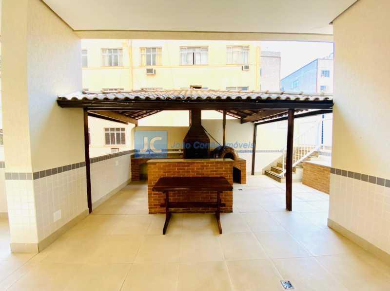 17 Churrasqueira - Apartamento à venda Rua Monte Pascoal,Cachambi, Rio de Janeiro - R$ 400.000 - CBAP20333 - 18