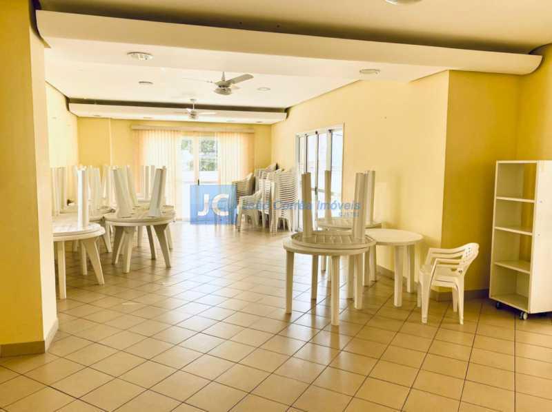 18 Salão festas - Apartamento à venda Rua Monte Pascoal,Cachambi, Rio de Janeiro - R$ 400.000 - CBAP20333 - 19