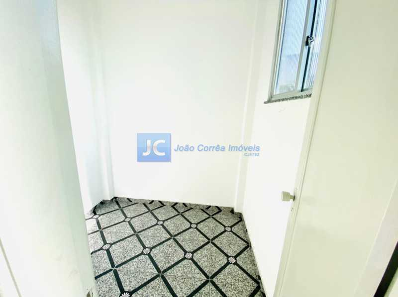 11 Quarto empregada - Apartamento à venda Rua Aquidabã,Méier, Rio de Janeiro - R$ 210.000 - CBAP20334 - 13