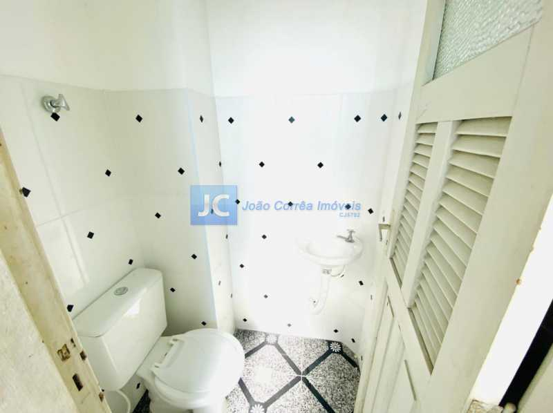 12 Banheiro empregada - Apartamento à venda Rua Aquidabã,Méier, Rio de Janeiro - R$ 210.000 - CBAP20334 - 14