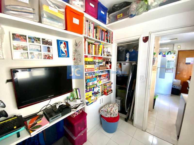 17 Quarto empregada 1 - Apartamento à venda Rua Padre Ildefonso Penalba,Méier, Rio de Janeiro - R$ 450.000 - CBAP20335 - 17