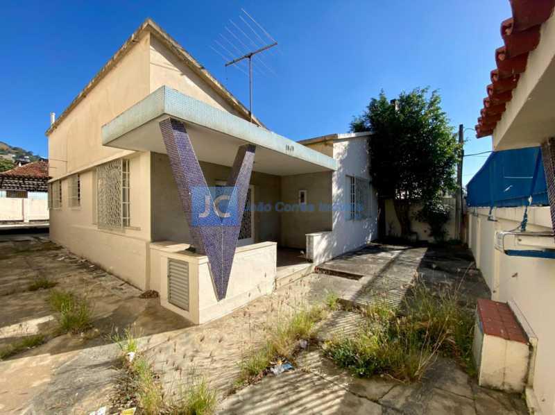 1 Frente e lateral - Casa à venda Piedade, Rio de Janeiro - R$ 400.000 - CBCA00005 - 1