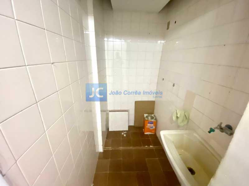 16 Banheiro empregada - Apartamento à venda Rua Tenente Franca,Cachambi, Rio de Janeiro - R$ 265.000 - CBAP20336 - 16