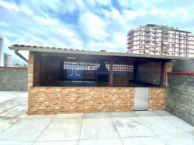 19 Churrasqueira - Apartamento à venda Rua Tenente Franca,Cachambi, Rio de Janeiro - R$ 265.000 - CBAP20336 - 19