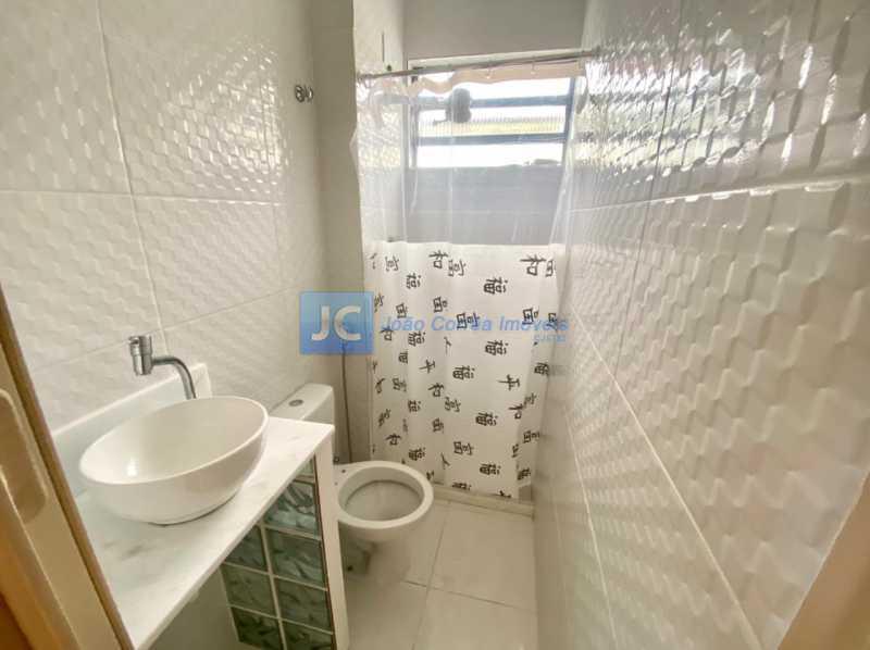12 Banheiro social - Apartamento à venda Rua Padre Roma,Engenho Novo, Rio de Janeiro - R$ 185.000 - CBAP20338 - 13