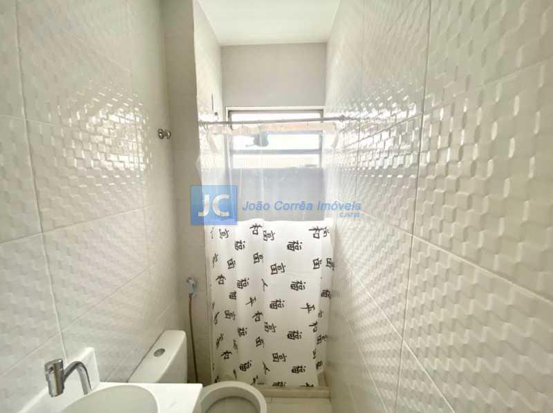 13 Banheiro social - Apartamento à venda Rua Padre Roma,Engenho Novo, Rio de Janeiro - R$ 185.000 - CBAP20338 - 14