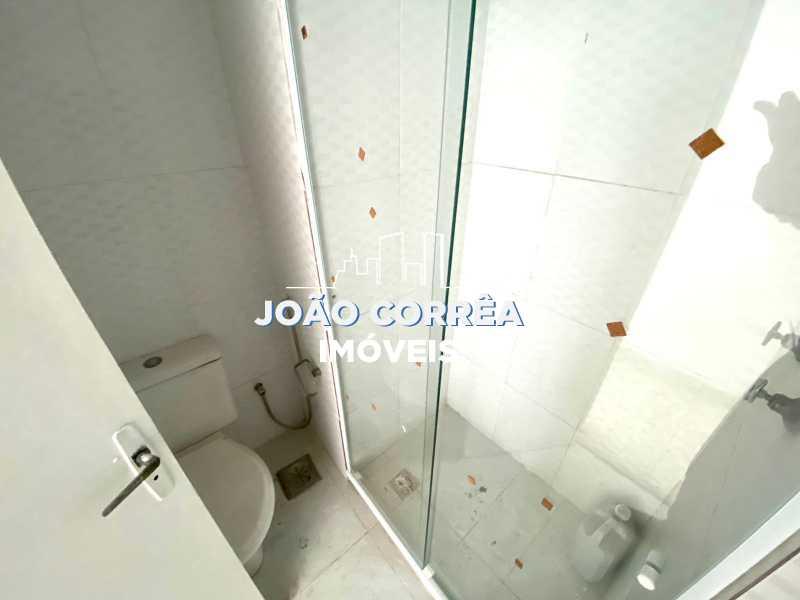 10 Banheiro social - Apartamento à venda Rua Moacir de Almeida,Tomás Coelho, Rio de Janeiro - R$ 130.000 - CBAP20342 - 11