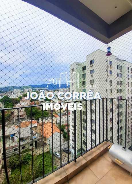 03 Varanda - Apartamento à venda Rua Padre Ildefonso Penalba,Méier, Rio de Janeiro - R$ 315.000 - CBAP20343 - 4