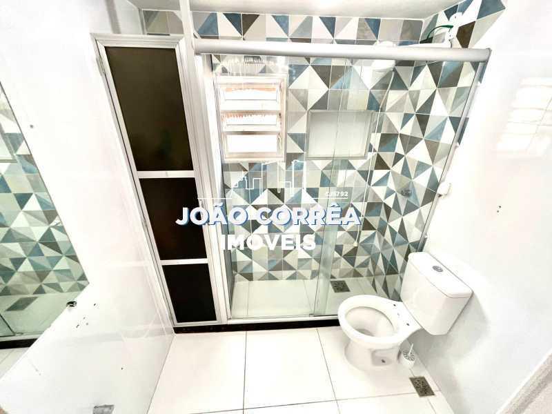 16 Banheiro social - Apartamento à venda Avenida Dom Hélder Câmara,Cascadura, Rio de Janeiro - R$ 120.000 - CBAP20344 - 17