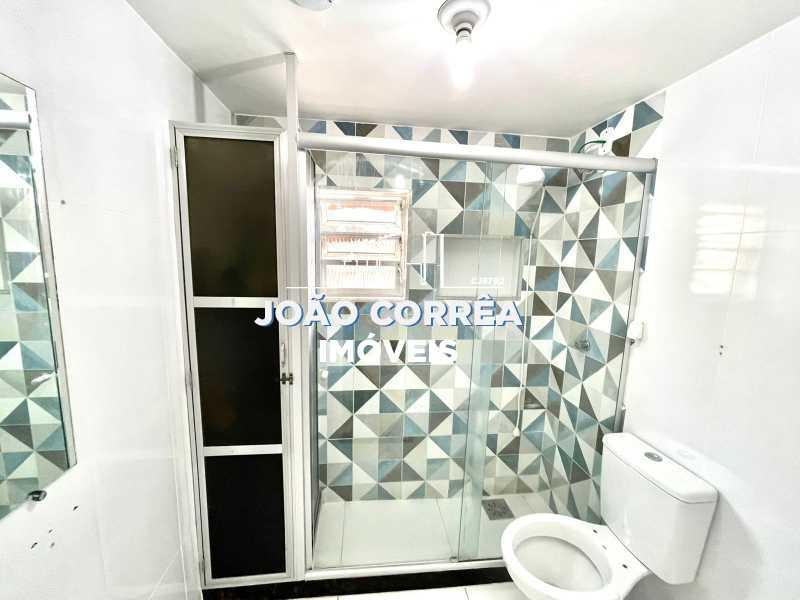 17 Banheiro social - Apartamento à venda Avenida Dom Hélder Câmara,Cascadura, Rio de Janeiro - R$ 120.000 - CBAP20344 - 18