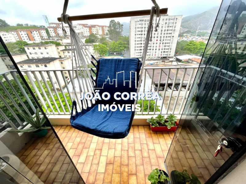 03 Varanda - Apartamento à venda Rua Moacir de Almeida,Tomás Coelho, Rio de Janeiro - R$ 180.000 - CBAP20345 - 4