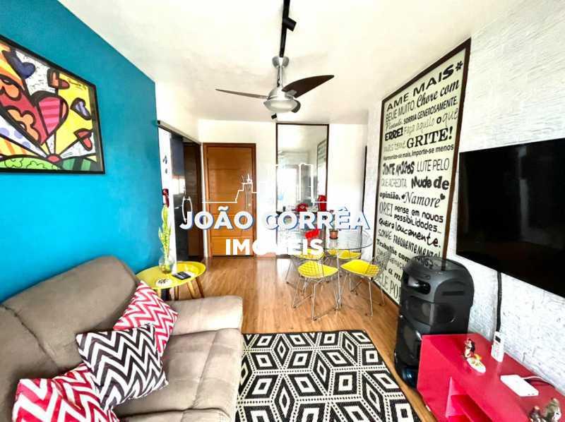 04 Salão - Apartamento à venda Rua Moacir de Almeida,Tomás Coelho, Rio de Janeiro - R$ 180.000 - CBAP20345 - 5