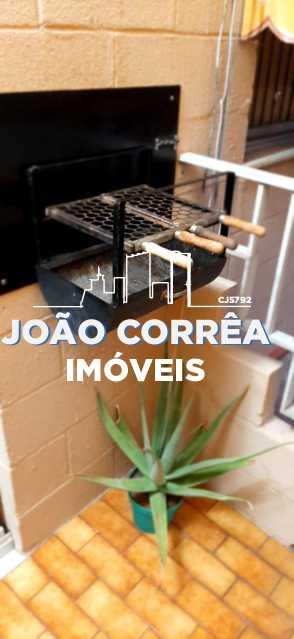 19 Churrasqueira embutida - Apartamento à venda Rua Moacir de Almeida,Tomás Coelho, Rio de Janeiro - R$ 180.000 - CBAP20345 - 20