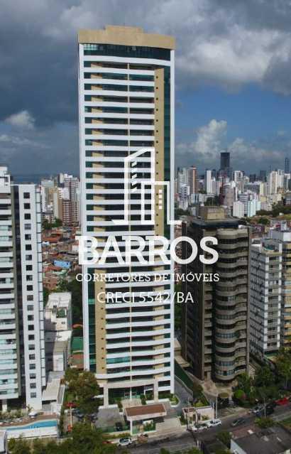 Fachada Baixa - Apartamento-4 suítes-São Lázaro-venda - BIAP40008 - 1