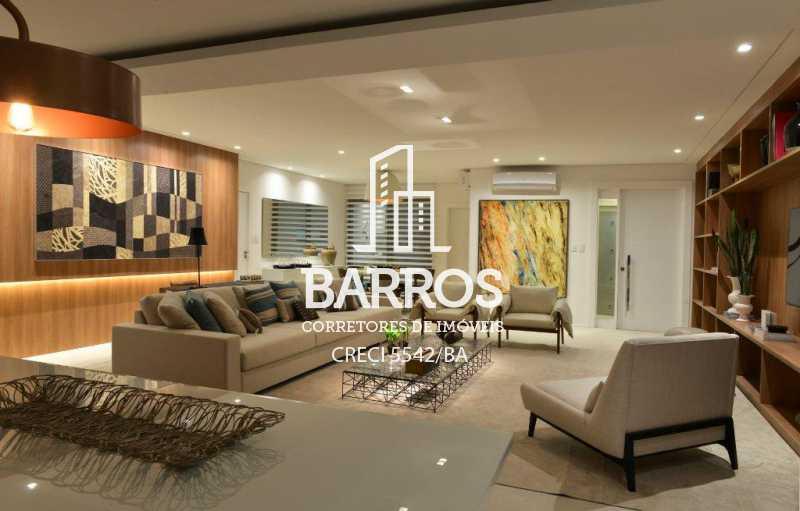 Foto03 Living Decorado - Apartamento-4 suítes-São Lázaro-venda - BIAP40008 - 3