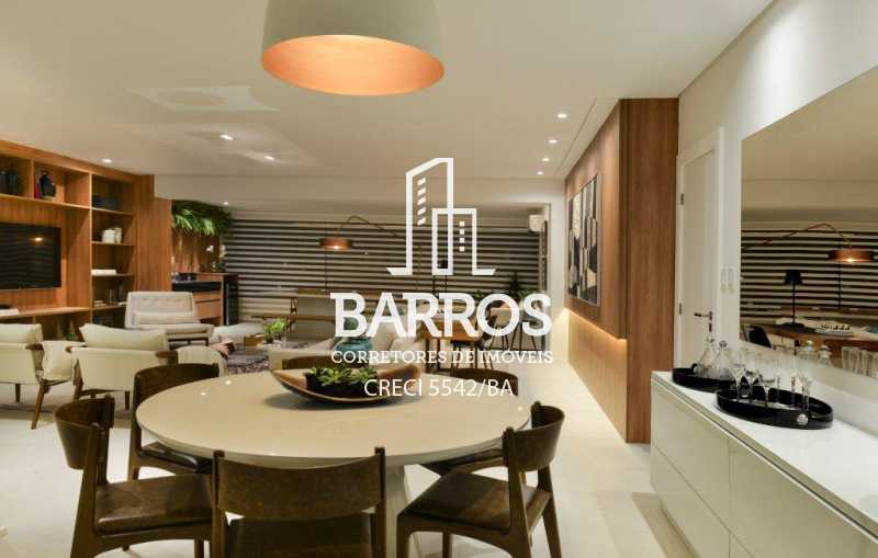 Foto04 Living Decorado - Apartamento-4 suítes-São Lázaro-venda - BIAP40008 - 5