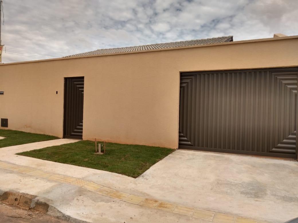 FOTO0 - Casa à venda Alameda Maurílio Félix de Sousa,Residencial Solar Central Park, Aparecida de Goiânia - R$ 180.000 - CA0299 - 1