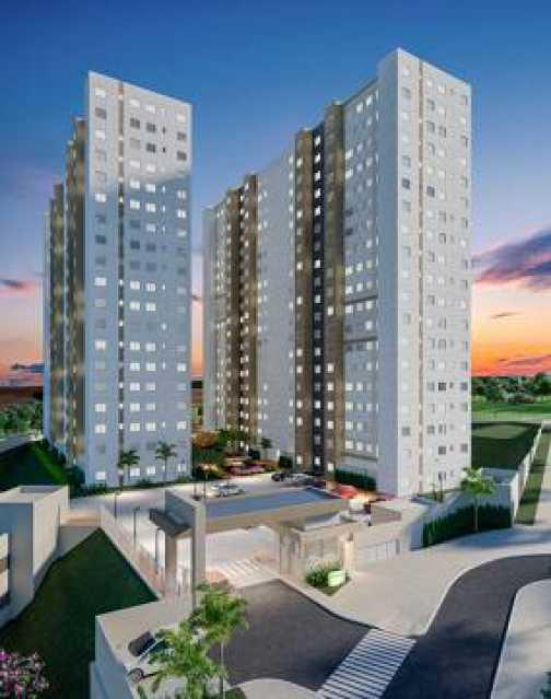 1 - Apartamento 2 quartos à venda Setor Norte Ferroviário, Goiânia - R$ 184.000 - VIAP20002 - 1