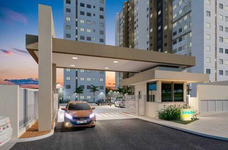 2 - Apartamento 2 quartos à venda Setor Norte Ferroviário, Goiânia - R$ 184.000 - VIAP20002 - 3