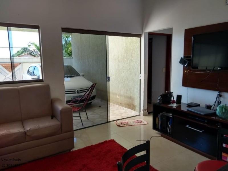FOTO3 - Casa à venda Rua Dona Doralice Cupertino de Barros Lisboa,Parque Veiga Jardim, Aparecida de Goiânia - R$ 350.000 - CA0008 - 4