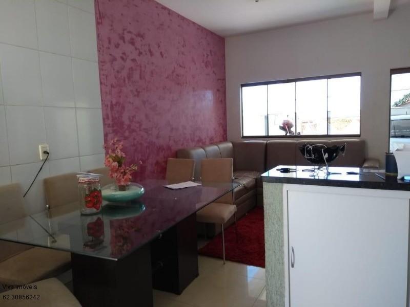 FOTO4 - Casa à venda Rua Dona Doralice Cupertino de Barros Lisboa,Parque Veiga Jardim, Aparecida de Goiânia - R$ 350.000 - CA0008 - 5