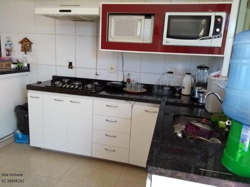 FOTO5 - Casa à venda Rua Dona Doralice Cupertino de Barros Lisboa,Parque Veiga Jardim, Aparecida de Goiânia - R$ 350.000 - CA0008 - 6