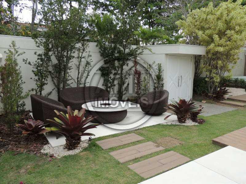 Jardim - Casa em Condominio À VENDA, Barra da Tijuca, Rio de Janeiro, RJ - TK54433 - 30