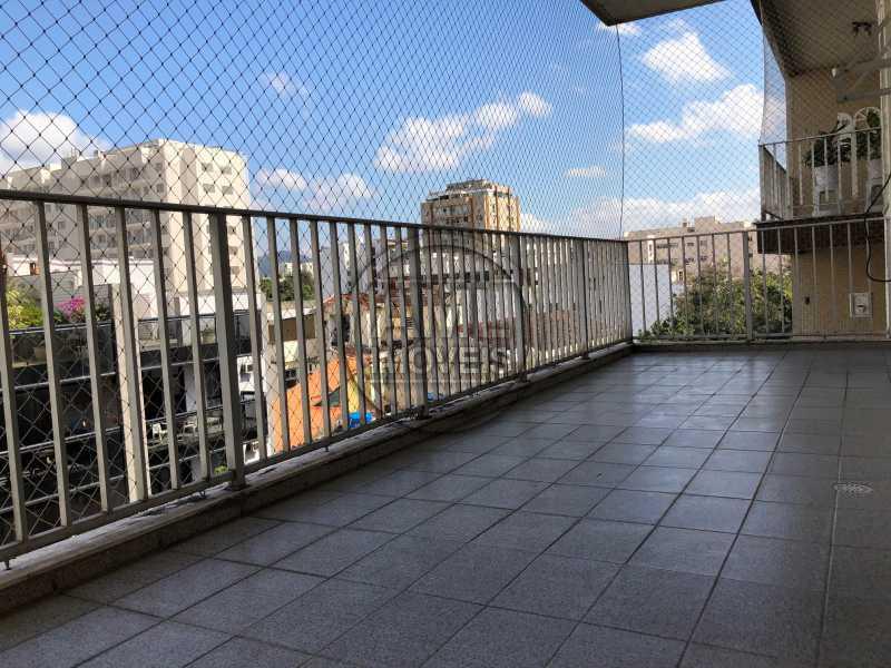 Varanda - Apartamento 3 quartos à venda Maracanã, Rio de Janeiro - R$ 647.000 - TA34488 - 7