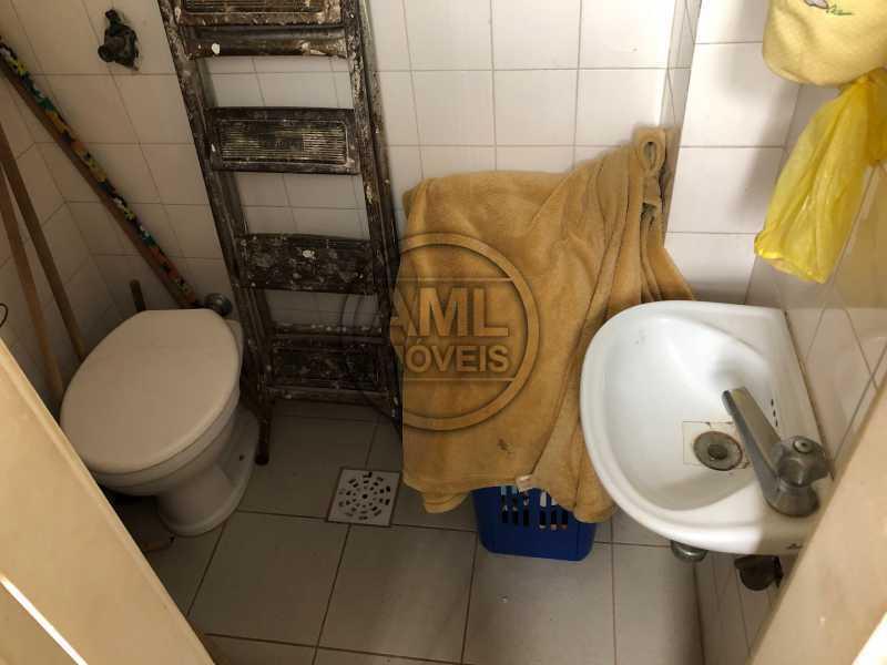 Banheiro de serviço - Apartamento 3 quartos à venda Maracanã, Rio de Janeiro - R$ 647.000 - TA34488 - 12