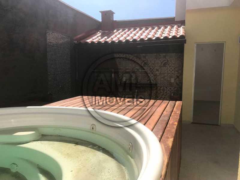 Terraço - Casa em Condominio À Venda - Vila Isabel - Rio de Janeiro - RJ - TK34557 - 18