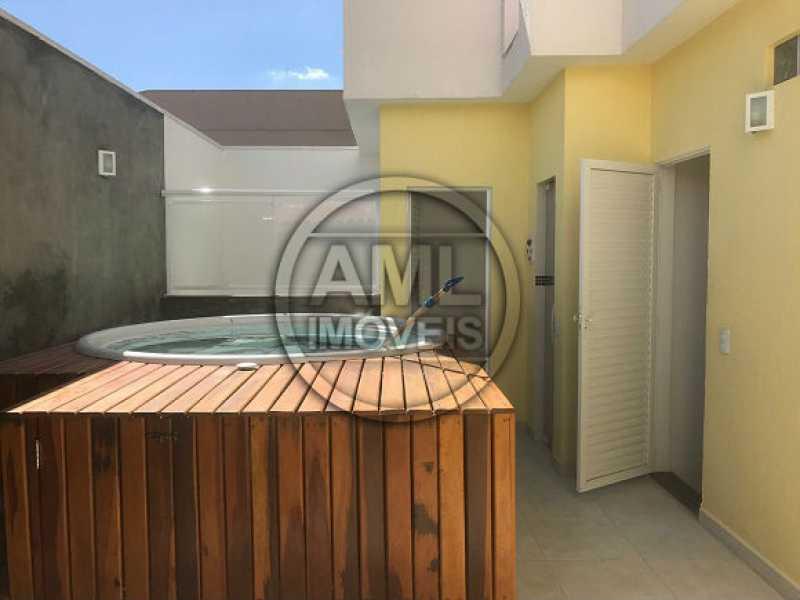 Terraço - Casa em Condominio À Venda - Vila Isabel - Rio de Janeiro - RJ - TK34458 - 19