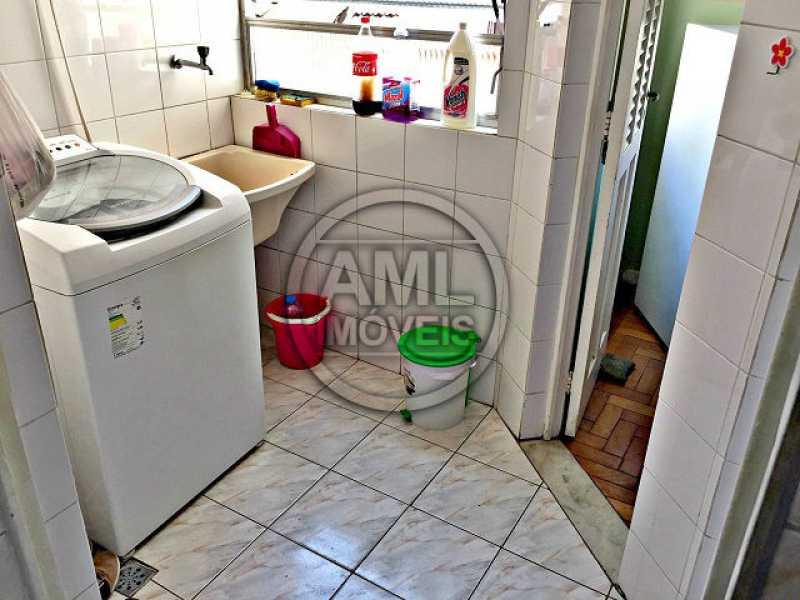 Área de serviço - Apartamento À Venda - Tijuca - Rio de Janeiro - RJ - TA24707 - 19