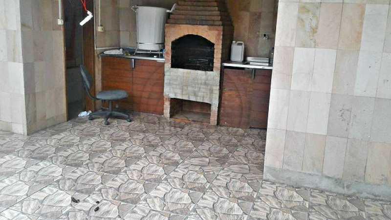 Churrasqueira - Casa Tijuca,Rio de Janeiro,RJ À Venda,4 Quartos,300m² - TK44718 - 15