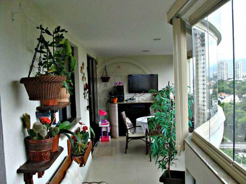 Varanda - Apartamento 3 quartos à venda Barra da Tijuca, Rio de Janeiro - R$ 1.480.000 - TA34723 - 1