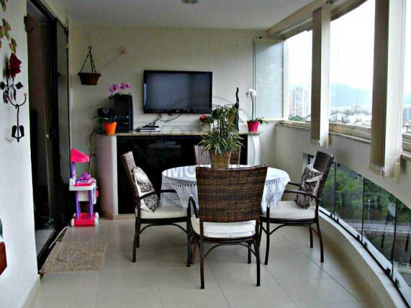 Varanda - Apartamento 3 quartos à venda Barra da Tijuca, Rio de Janeiro - R$ 1.480.000 - TA34723 - 4