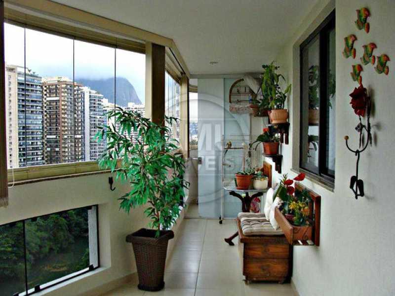 Varanda - Apartamento 3 quartos à venda Barra da Tijuca, Rio de Janeiro - R$ 1.480.000 - TA34723 - 3