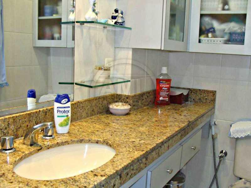 Banheiro social - Apartamento 3 quartos à venda Barra da Tijuca, Rio de Janeiro - R$ 1.480.000 - TA34723 - 11