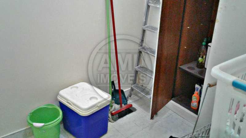 Quarto de serviço - Apartamento À Venda - Tijuca - Rio de Janeiro - RJ - TA34728 - 18