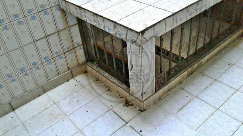 Banheiro de serviço - Apartamento À Venda - Tijuca - Rio de Janeiro - RJ - TA34728 - 22