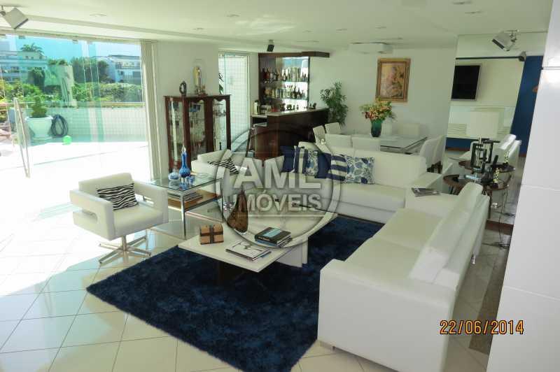 Sala - Cobertura 4 quartos à venda Recreio dos Bandeirantes, Rio de Janeiro - R$ 1.315.000 - TC44870 - 1