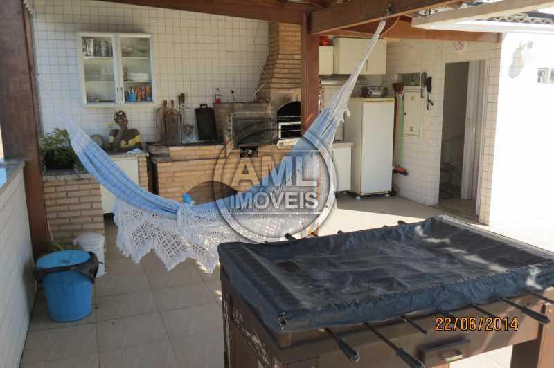 Churrasqueira Cobertura - Cobertura 4 quartos à venda Recreio dos Bandeirantes, Rio de Janeiro - R$ 1.315.000 - TC44870 - 21