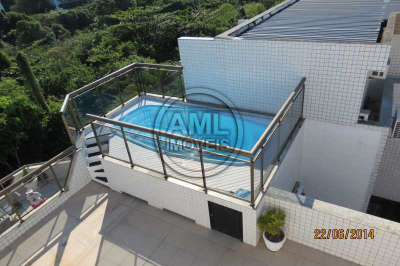 Piscina Cobertura - Cobertura 4 quartos à venda Recreio dos Bandeirantes, Rio de Janeiro - R$ 1.315.000 - TC44870 - 24