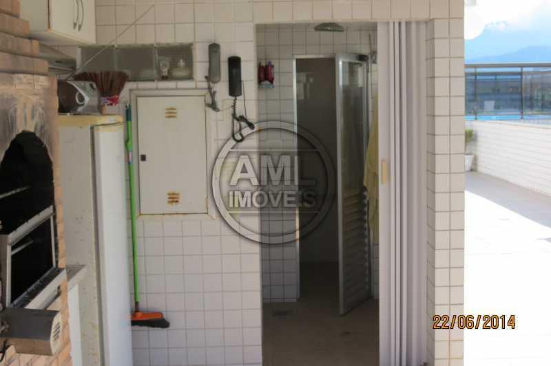 Churrasqueira Banheiro Sauna  - Cobertura 4 quartos à venda Recreio dos Bandeirantes, Rio de Janeiro - R$ 1.315.000 - TC44870 - 26