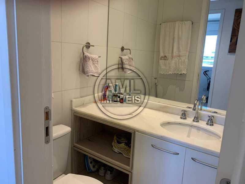 Banheiro - Cobertura 3 quartos à venda Recreio dos Bandeirantes, Rio de Janeiro - R$ 700.000 - TC34871 - 8