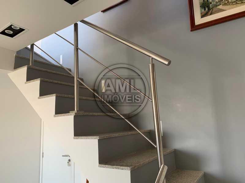 Escada para o 2º piso - Cobertura 3 quartos à venda Recreio dos Bandeirantes, Rio de Janeiro - R$ 700.000 - TC34871 - 13
