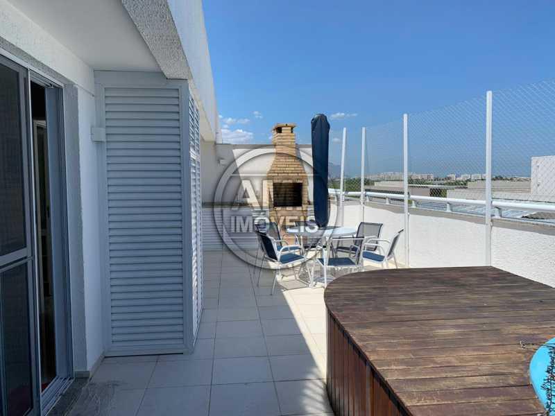 Terraço - Cobertura 3 quartos à venda Recreio dos Bandeirantes, Rio de Janeiro - R$ 700.000 - TC34871 - 22