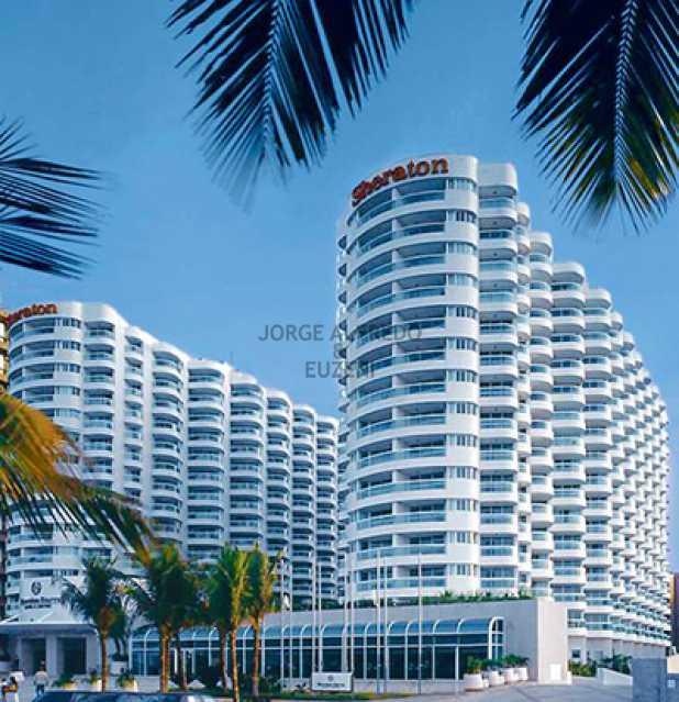 Sheraton-Barra - Flat 2 quartos à venda Barra da Tijuca, Rio de Janeiro - R$ 1.850.000 - JAFL20001 - 1