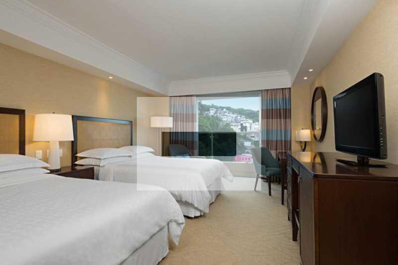 sheraton-rio-hotel-resort - Sheraton Barra - AU: Luciano Costa 3150 - frontal, suites, sala, varandas, lavabo, Cozinha Americana, 1 vaga garagem, Condominio total infraestrutura - JAAP20021 - 10